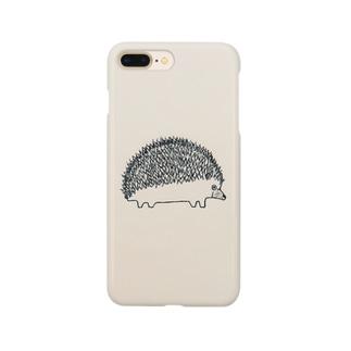 ハリネズミ Smartphone cases
