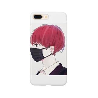 マスク男子 Smartphone cases