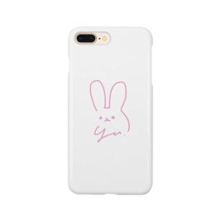 ユナちゃんうさぎさん Smartphone cases