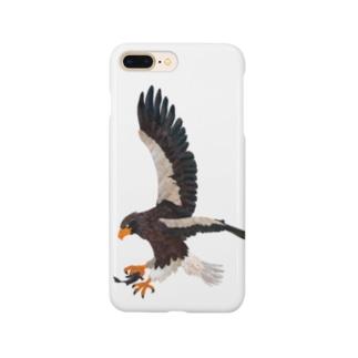 空の王者オオワシ Smartphone cases