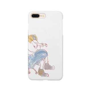 ギター女子 Smartphone cases