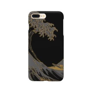 冨嶽三十六景 神奈川沖浪裏 Smartphone cases