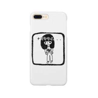 ナマケタイ女子 Smartphone cases