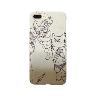 猫屋敷 Smartphone cases