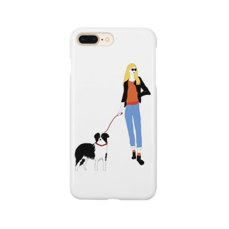 A girl with Annie Smartphone cases
