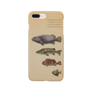 魚類画帳 スマートフォンケース