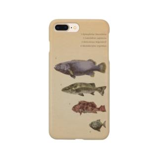 魚類画帳 Smartphone cases