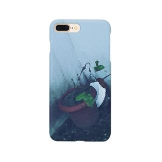 枯れた植木の Smartphone cases
