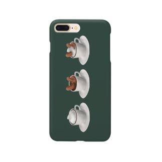 粉片のウィンナーウィンナーコーヒー Smartphone cases