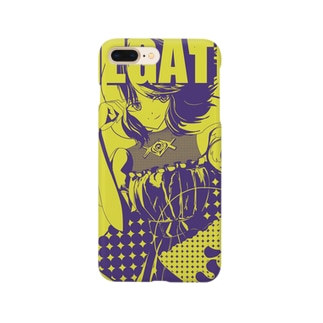 NEGATEちゃん Smartphone cases
