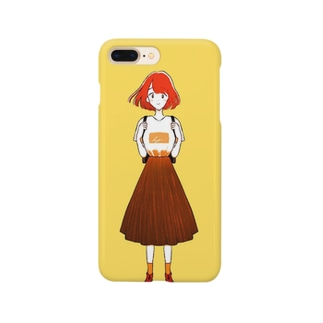 短髪女の子 Smartphone cases