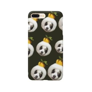 鏡餅ワンちゃん Smartphone cases