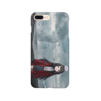 黒砂丘 Smartphone cases