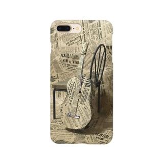 ギターを包装紙で Smartphone cases