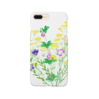 七草でハート Smartphone cases