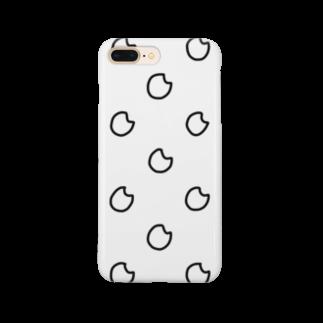 nyoroのドットお米 Smartphone cases