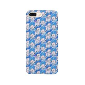 ワサグラ アオ Smartphone cases