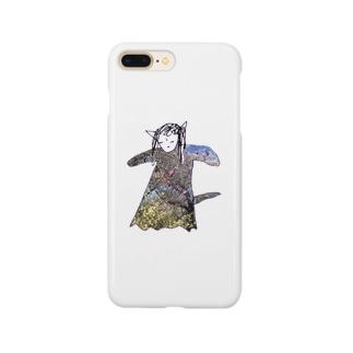 不機嫌なパペットちゃん Smartphone cases