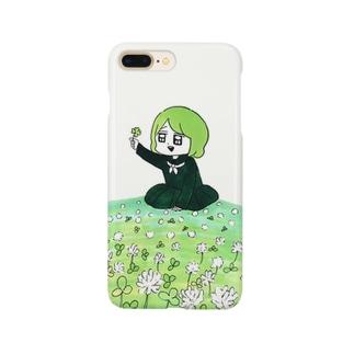 君が代ちゃん Smartphone cases