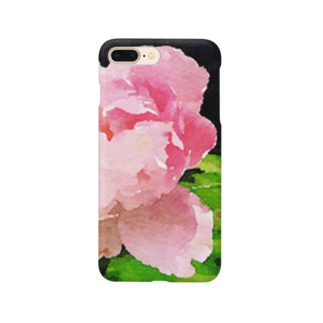 yunyunlivvyの大輪の花 Smartphone cases