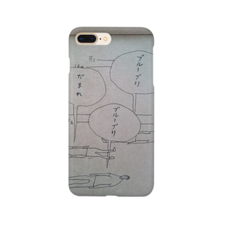 OG_officialのブルーブリ Smartphone cases
