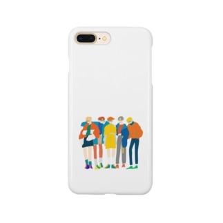 めがねボーイズ Smartphone cases