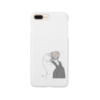 ファッションイラスト Smartphone cases