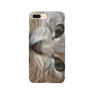 インテリ猫しんば Smartphone cases