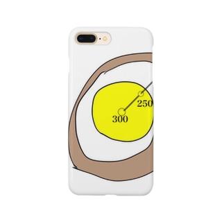 揚げ卵断面図 Smartphone cases