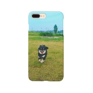 草原ルルくんスマホケース Smartphone cases