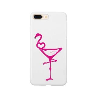 カクテルフラミンゴ Smartphone cases