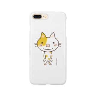 にゃんじろう Smartphone cases