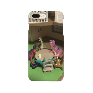 恐竜井戸端会議 Smartphone cases