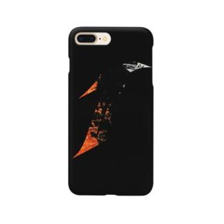 T.I.E STOREのT.I.E ORANGE Smartphone cases
