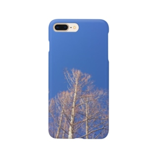 晴れた日のメタセコイア Smartphone cases