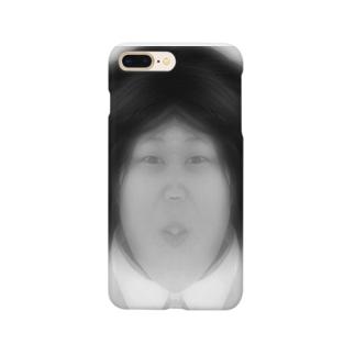 POCO★ARTのアフロ肉団子 Smartphone cases