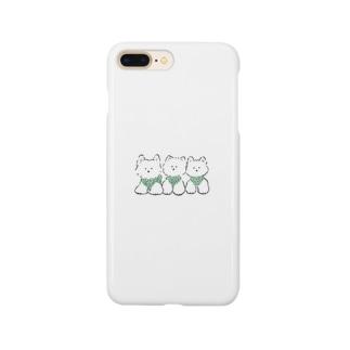 3ひきのテリア Smartphone cases