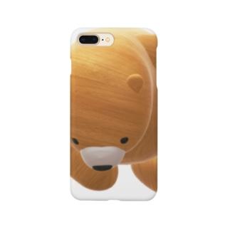 木のくまちゃん Smartphone cases