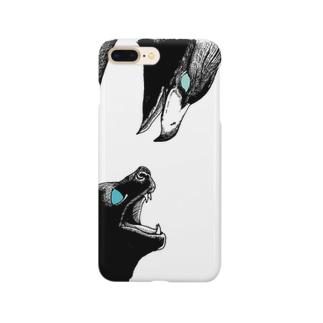 鷹猫 Smartphone cases