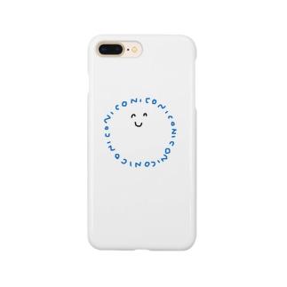 にこにこぉ Smartphone cases