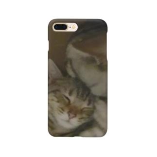 なかよし猫ちゃんシリーズ Smartphone cases