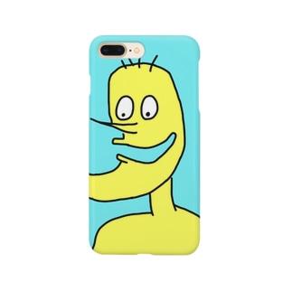 しゃくれ Smartphone cases