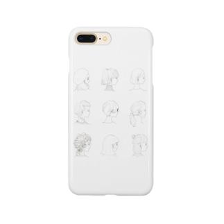 YOKOGAOカバー Smartphone cases