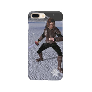 吹雪く戦闘 Smartphone cases