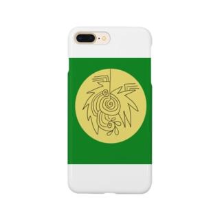 JUNSENSETA(瀬田純仙)文明7円盤の石碑 Smartphone cases