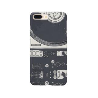 ターンテーブリスト Smartphone cases