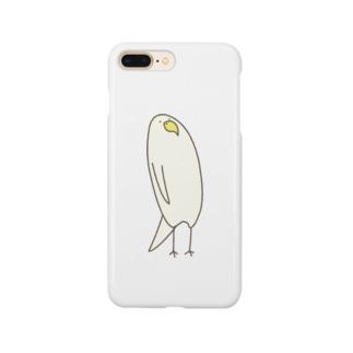 とりきちの上から目線 Smartphone cases