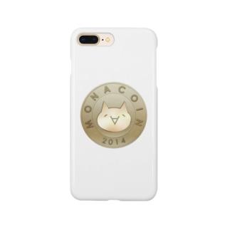 Monacoin(モナコイン) Smartphone cases