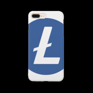 OWLCOIN ショップのLitecoin ライトコイン Smartphone cases