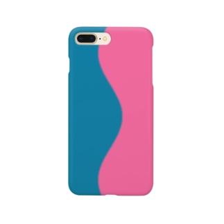 pink&blue Smartphone cases